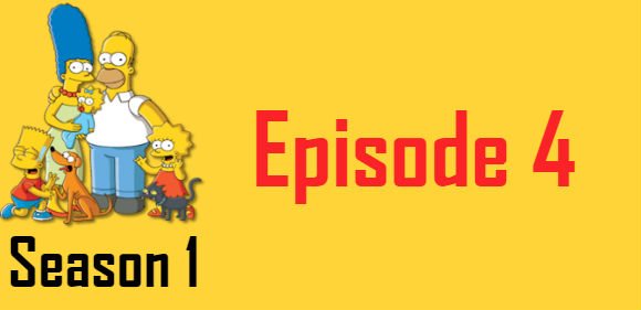 The Simpsons Season 1 Episode 4 TV Series