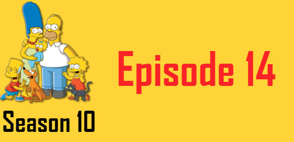 The Simpsons Season 10 Episode 14 TV Series
