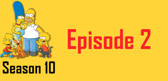 The Simpsons Season 10 Episode 2 TV Series