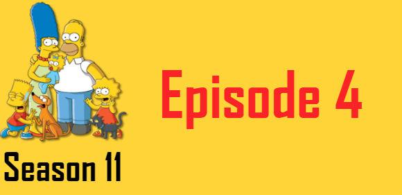 The Simpsons Season 11 Episode 4 TV Series