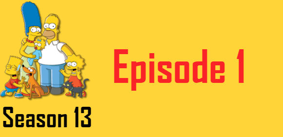 The Simpsons Season 13 Episode 1 TV Series
