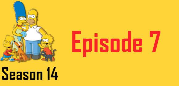 The Simpsons Season 14 Episode 7 TV Series