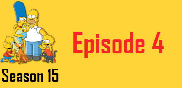 The Simpsons Season 15 Episode 4 TV Series