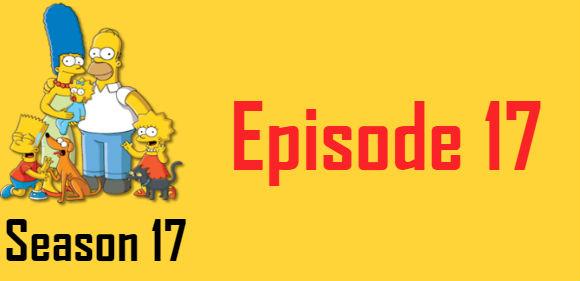 The Simpsons Season 17 Episode 17 TV Series