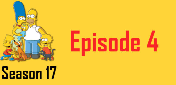 The Simpsons Season 17 Episode 4 TV Series