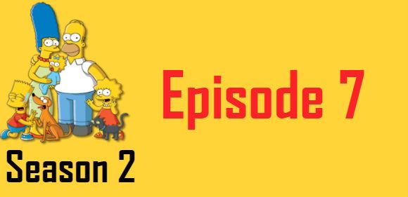 The Simpsons Season 2 Episode 7 TV Series