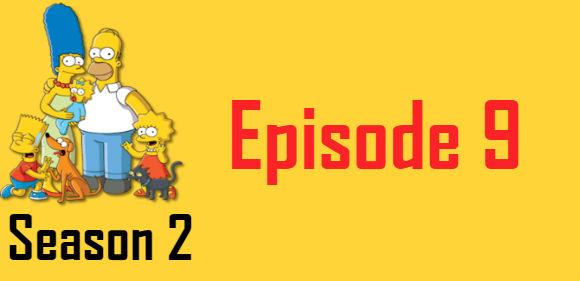 The Simpsons Season 2 Episode 9 TV Series
