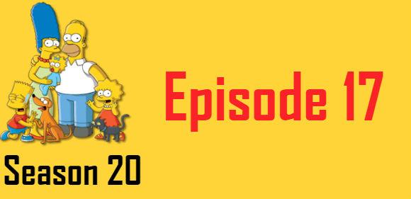 The Simpsons Season 20 Episode 17 TV Series