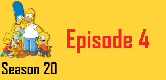 The Simpsons Season 20 Episode 4 TV Series