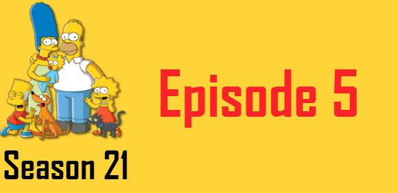 The Simpsons Season 21 Episode 5 TV Series