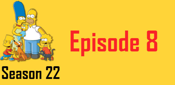 The Simpsons Season 22 Episode 8 TV Series
