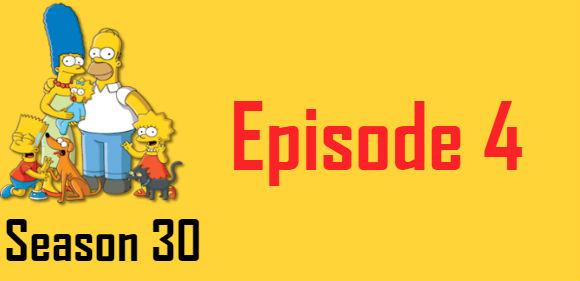 The Simpsons Season 30 Episode 4 TV Series