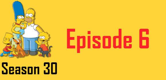 The Simpsons Season 30 Episode 6 TV Series