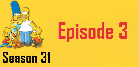 The Simpsons Season 31 Episode 3 TV Series