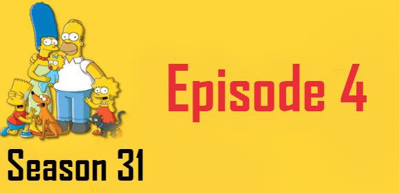 The Simpsons Season 31 Episode 4 TV Series