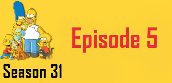 The Simpsons Season 31 Episode 5 TV Series