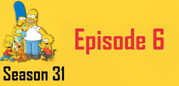 The Simpsons Season 31 Episode 6 TV Series