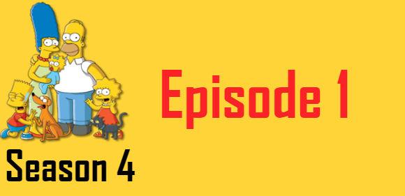 The Simpsons Season 4 Episode 1 TV Series