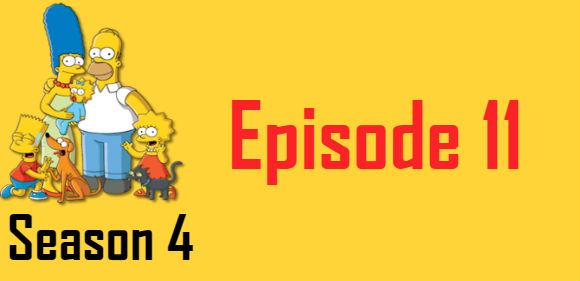 The Simpsons Season 4 Episode 11 TV Series