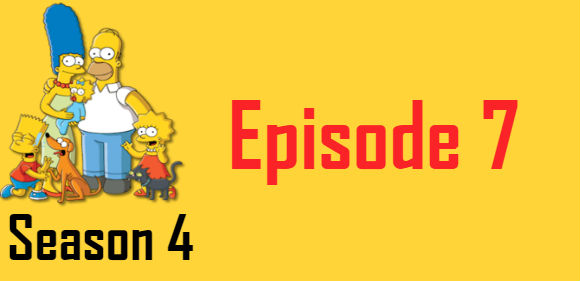 The Simpsons Season 4 Episode 7 TV Series