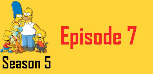 The Simpsons Season 5 Episode 7 TV Series