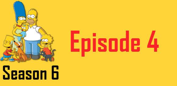The Simpsons Season 6 Episode 4 TV Series
