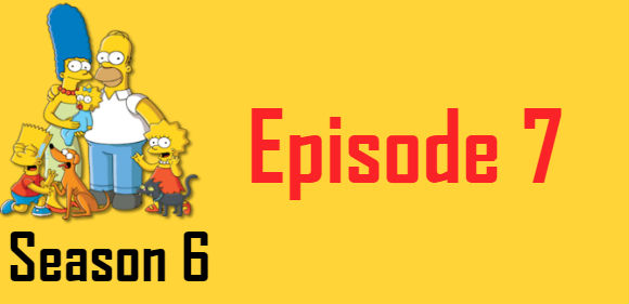 The Simpsons Season 6 Episode 7 TV Series