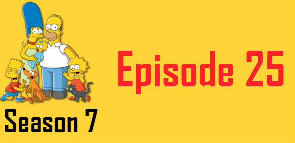 The Simpsons Season 7 Episode 25 TV Series