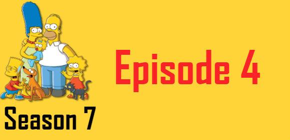 The Simpsons Season 7 Episode 4 TV Series