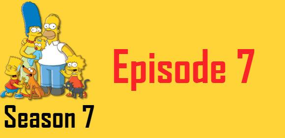 The Simpsons Season 7 Episode 7 TV Series