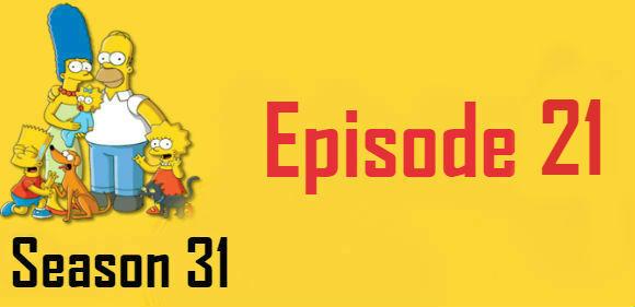 The Simpsons Season 31 Episode 21 TV Series