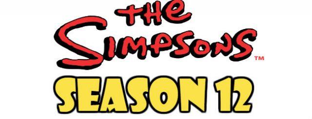 The Simpsons Season 12 Episodes Watch Online TV Series