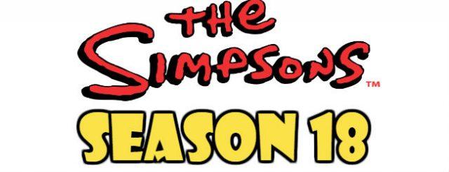 The Simpsons Season 18 Episodes Watch Online TV Series