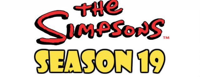 The Simpsons Season 19 Episodes Watch Online TV Series