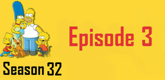 The Simpsons Season 32 Episode 3 Watch Online TV Series