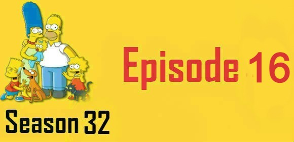 The Simpsons Season 32 Episode 16