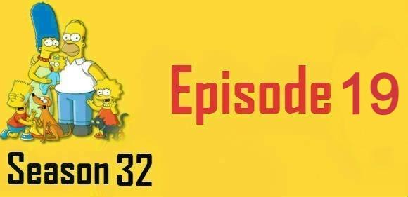 The Simpsons Season 32 Episode 19 Watch