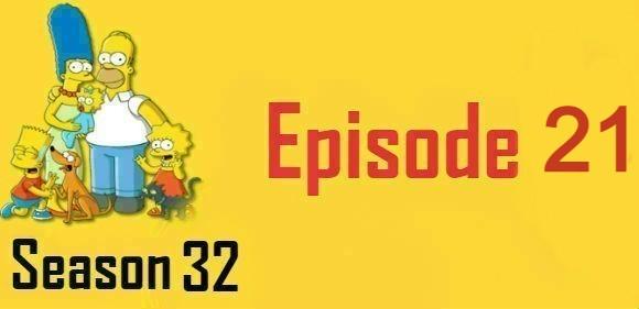 The Simpsons Season 32 Episode 21 Watch