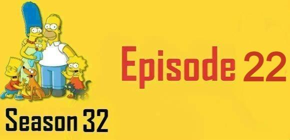 The Simpsons Season 32 Episode 22 Watch